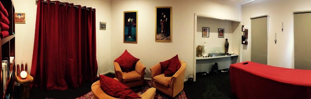 Sarah Louise Massage Studio Layout
